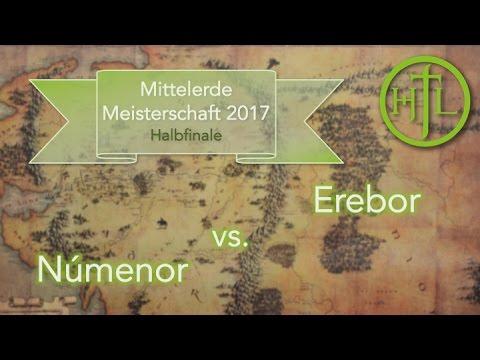 Númenor vs. Erebor (Halbfinale 2) - Mittelerde Meisterschaft 2017