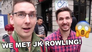 WE MET JK ROWLING! | New York Harry Potter Adventure