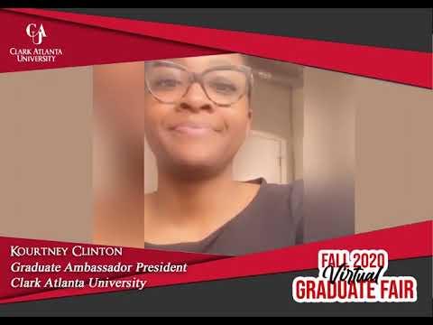 Join CAU for Fall Virtual Graduate Fair, October 14, 2020!   Kourtney Clinton