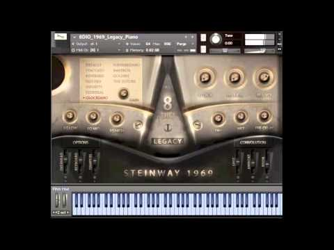 8Dio 1969 Steinway Legacy Grand Piano