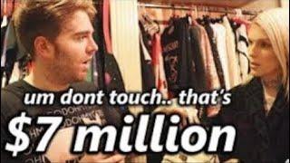 Jeffree stars making Shane Dawson feel poor for 2 minutes
