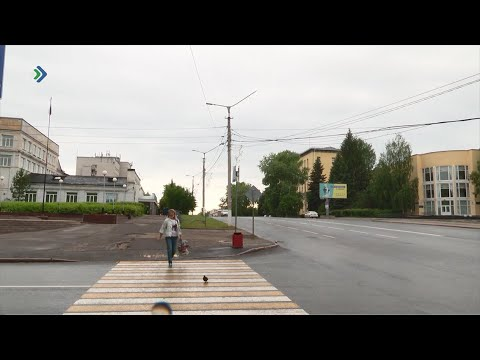 Фонарь в самом центре Сыктывкара мог упасть на голову прохожим.