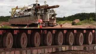 Technology: The Incredible Journey of a Dredge through the Jungle