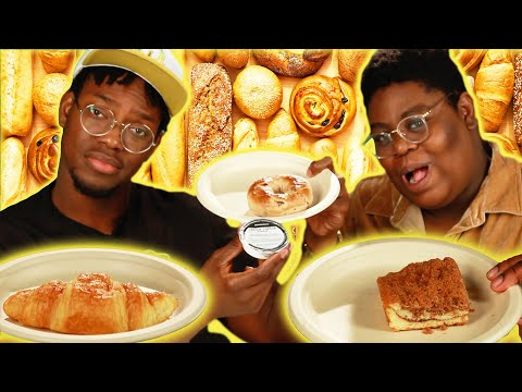 We Try Every Starbucks Bakery Item