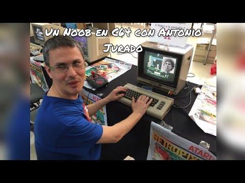 Un noob en Commodore 64 con Antonio Jurado
