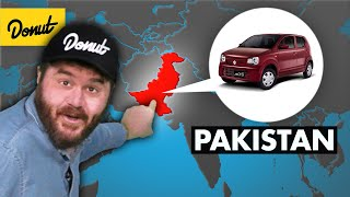 The Most Popular Car in Every Country