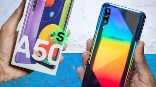 Samsung A50s Unboxing, Google Camera, Widevine L1, and more...