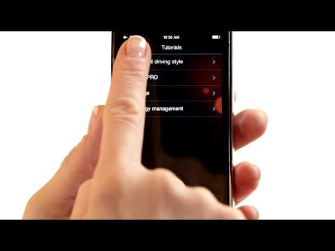 BMW iRemote App: Efficiency Screen Overview