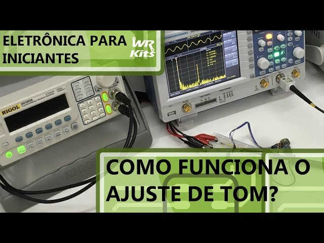 COMO FUNCIONA UM CONTROLE DE TOM? | Eletrônica para Iniciantes #169