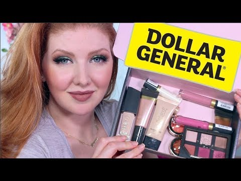 New Makeup at Dollar General Review   Nothing Over $5