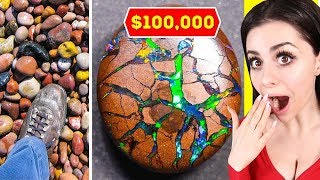 SUPER LUCKY FINDS THAT MADE PEOPLE RICH