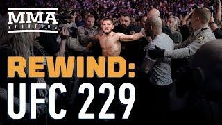 UFC 229 Rewind: Khabib Nurmagomedov Submits Conor McGregor