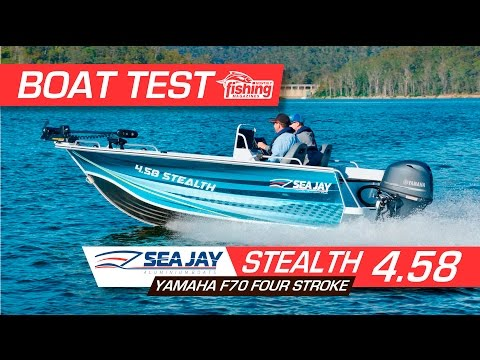4.58 STEALTH - Boat Test