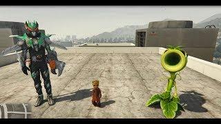 GTA 5 - Plan vs Zombie (cây xanh đại chiến cương thi) lạ truyện | GHTG