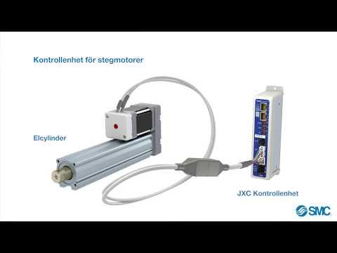 SMC:s nya servokontrollenhet JXC förbättrar maskinprestandan