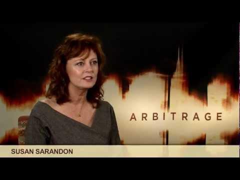 'Arbitrage' Susan Sarandon Interview