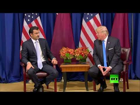 سوء فهم بين دونالد ترامب وتميم بن حمد !