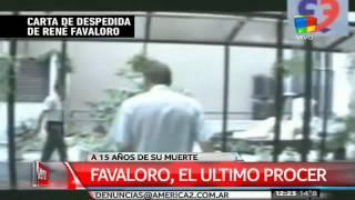 Homenaje a René Favaloro a 15 años de su muerte