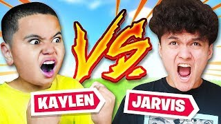 MY LITTLE BROTHER AND FAZE JARVIS PLAY DUOS TOGETHER!! THEY SQUASHED THE BEEF? FORTNITE BR 22 KILLS!
