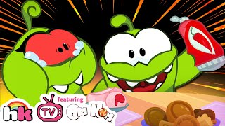 Om Nom Stories: THE PRANK WAR | Funny Cartoons for Children | HooplaKidz TV