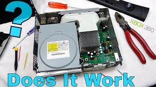 DOES IT WORK?!? Taking apart an XBOX 360 ELITE | Fix it with SPEEDY!