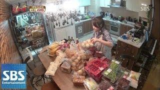 김소현, 80인분 식사 준비에 멘붕 @오! 마이 베이비 11회