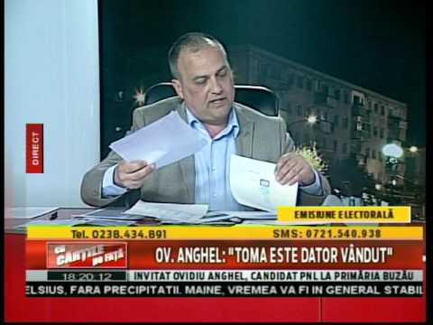 """Ov. Anghel: """"Toma este dator vândut!"""""""
