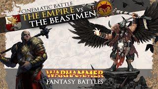 The Beastmen VS The Empire - Total War: Warhammer 2 Cinematic Battle.