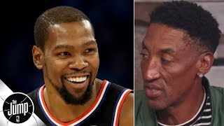 Kevin Durant has done 'something very special' in signing with Nets - Scottie Pippen | The Jump