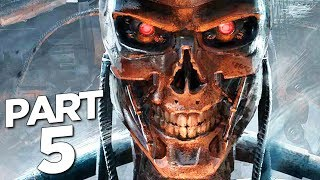 TERMINATOR RESISTANCE Walkthrough Gameplay Part 5 - SKYNET ATTACK (FULL GAME)