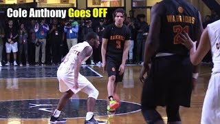 Cole Anthony SHOWS WHY He's The #1 Point Guard in America
