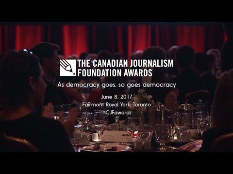 View the highlights of the CJF Awards, celebrating excellence in journalism. This year's event takes place on June 8 in Toronto, at the Fairmont Royal York.