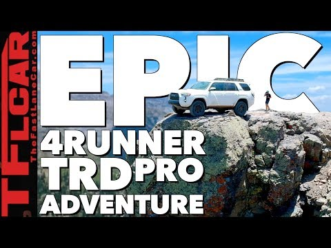 Why The New 4Runner TRD Pro Is Most Dirt-Worthy 4Runner Ever! Imogene Pass Review!