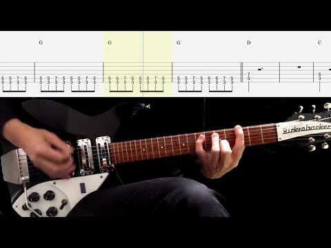 Rhythm Guitar TAB : I'm Gonna Sit Right Down And Cry (Over you) - The Beatles
