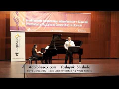 Yoshiyuki Shishido - Nova Gorica 2013 - Lojze Lebič: Invocation / à Primož Ramovš