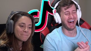 DARK AND OFFENSIVE TIK TOKS! - Tik Tok Reactions w/ My Girlfriend