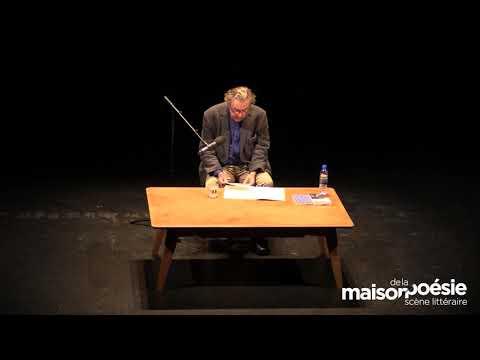Vidéo de Jean-Christophe Bailly