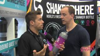 Rick Beardsell Perfect Sports Bottle ShakeSphere The LA Fit Expo Every Way Woman Talk Show