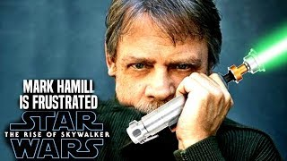 Mark Hamill Is Annoyed With The Rise Of Skywalker! (Star Wars Episode 9)