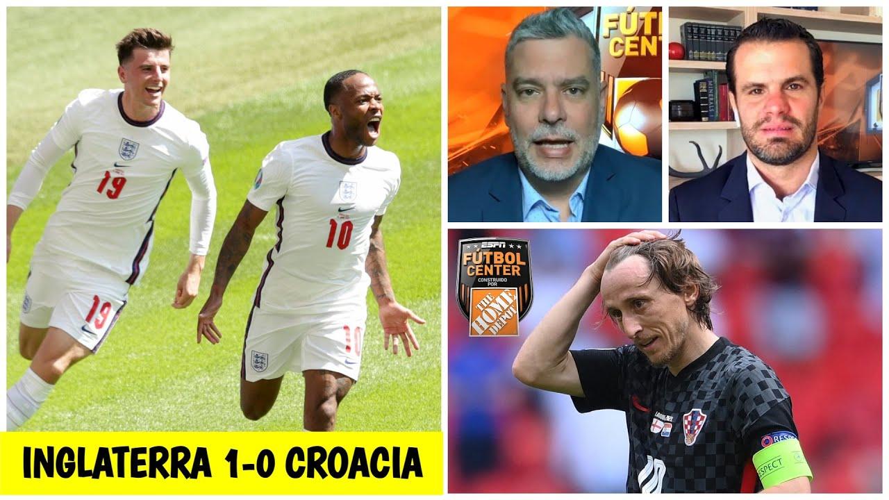 ANÁLISIS EURO Inglaterra venció a Croatia con muy buen fútbol y pinta para campeón | Futbol Center