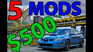 5 Easy Car Mods for $500 or LESS!