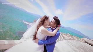 Cảnh Quay Đám cưới siêu Lãng Mạng như phim Hàn bằng Flycam