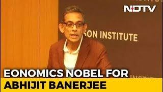 Nobel for economics awarded to Abhijit Banerjee, wife Esth..