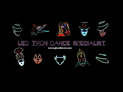 led tron dance