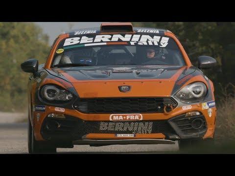 Abarth 124 rally Selenia Tropy @ Best of 35 Rally Due Valli