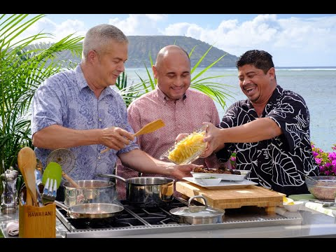 Cooking Hawaiian Style Episode 701 with Comedian Augie T and Chef Greg Christian.