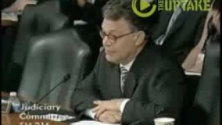Franken Sets Record Straight on Justice Thurgood Marshall