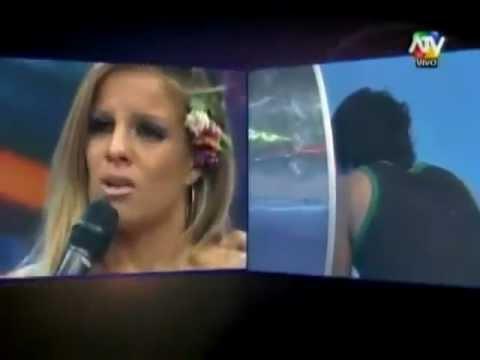 Alejandra Baigorria  LLORA POR fin de su relación con PILOTO Mario Hart COMBATE
