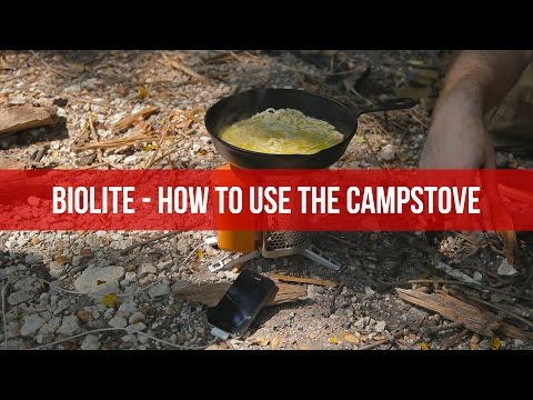 Biolite - How To Use The Campstove