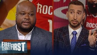 Giannis or Harden? Antoine Walker makes his pick for NBA MVP | NBA | FIRST THINGS FIRST
